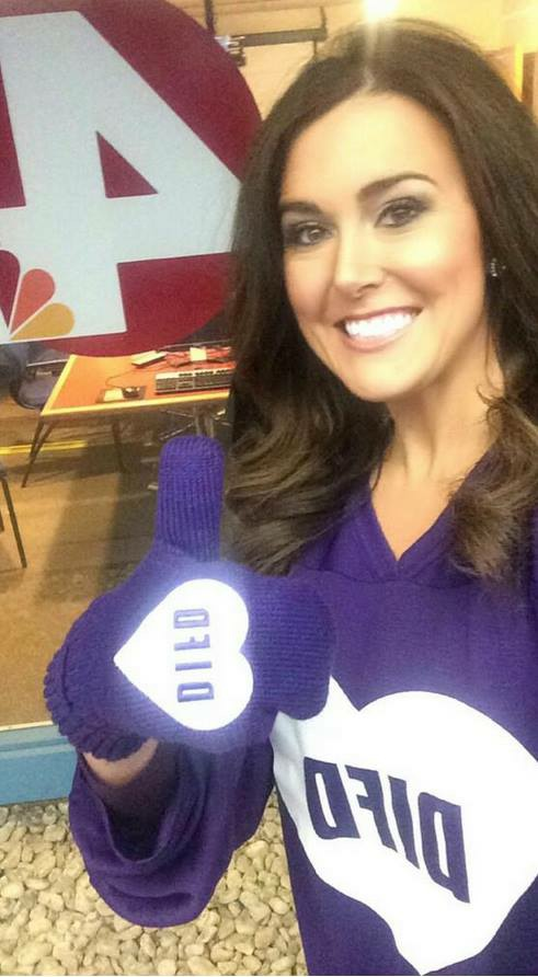 Monica Day of WCMH-TV posted a DIFD selfie to support of the big event tonight!