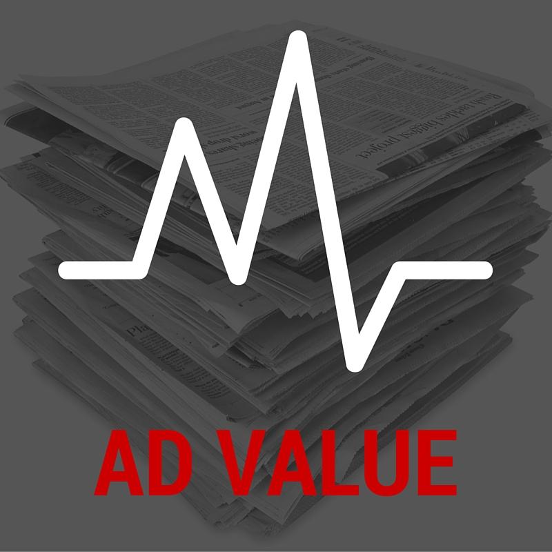 Advertising value, PR measurement, public relations, metrics, results, marketing