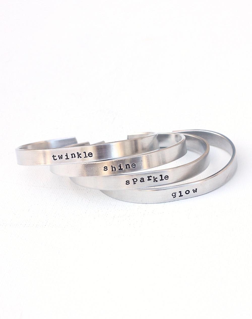 twinkle_shine_sparkle_glow_ hand stamped bracelets 046.JPG