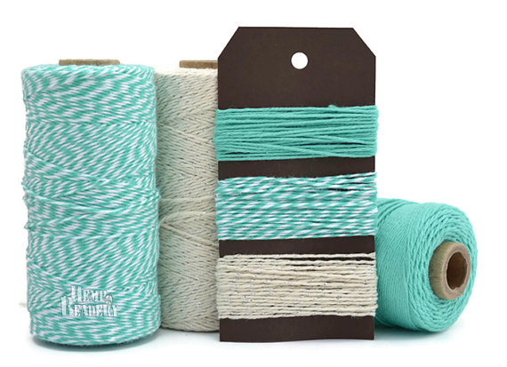 Carribean Colored Twine by Hemp Beadery