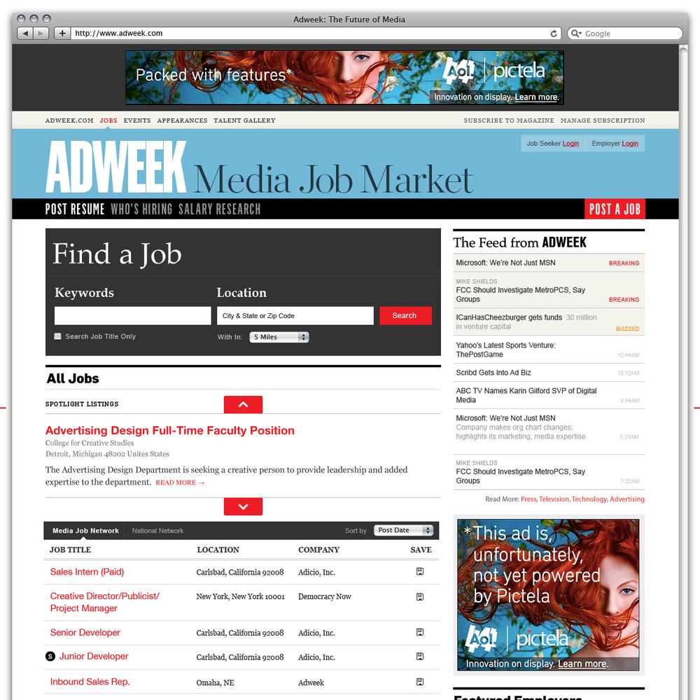 Adweek Job Market