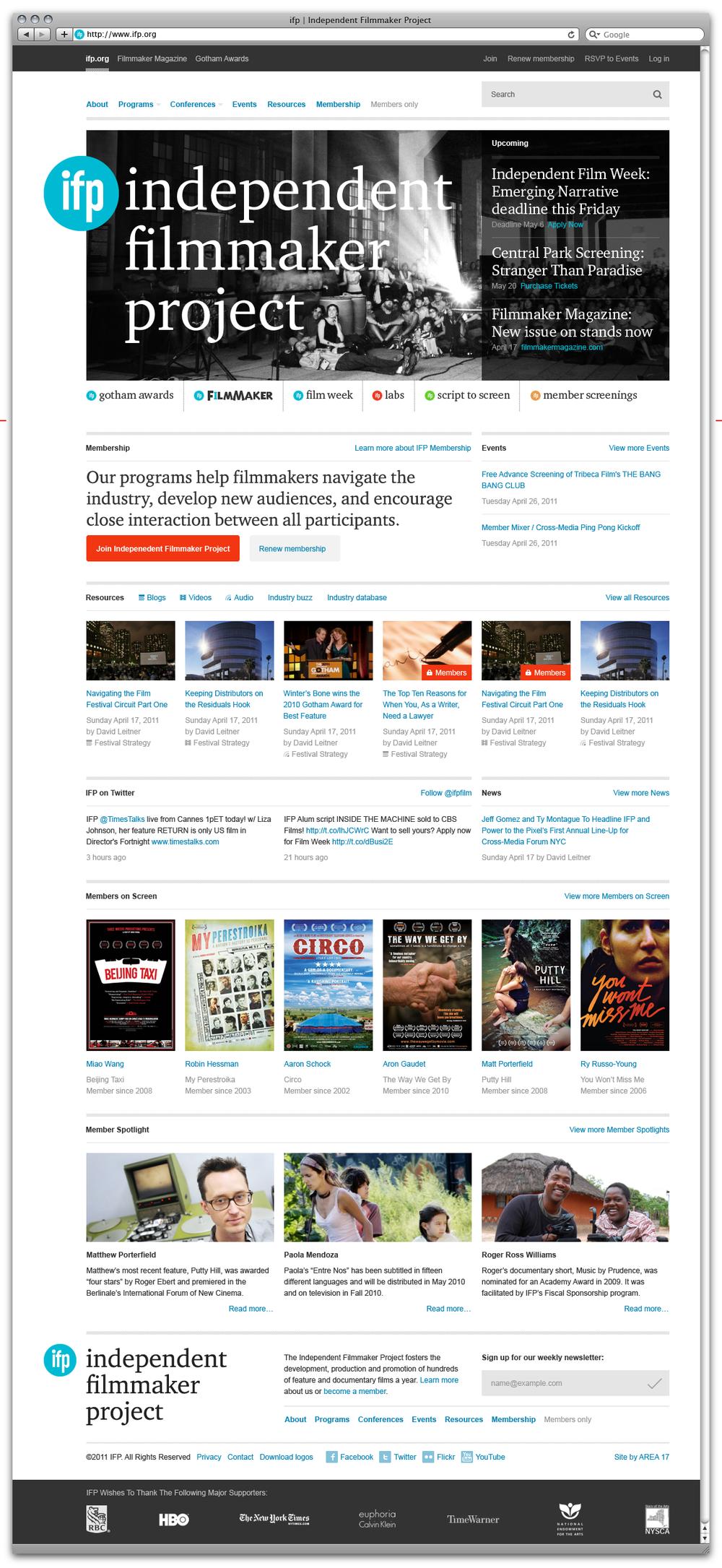 IFP Homepage