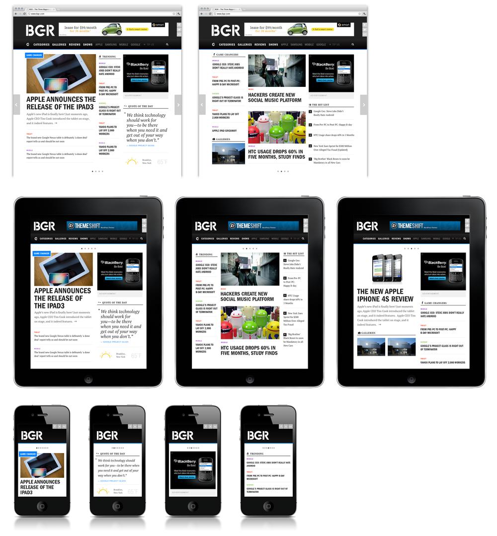 Homepage Cross Platform