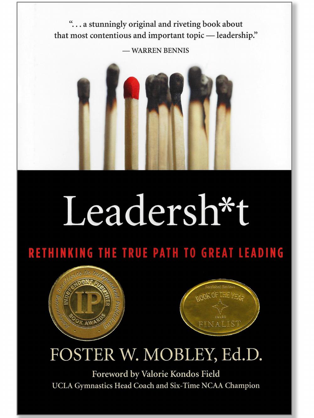 LEADERSH*T BOOK DR. FOSTER MOBLEY