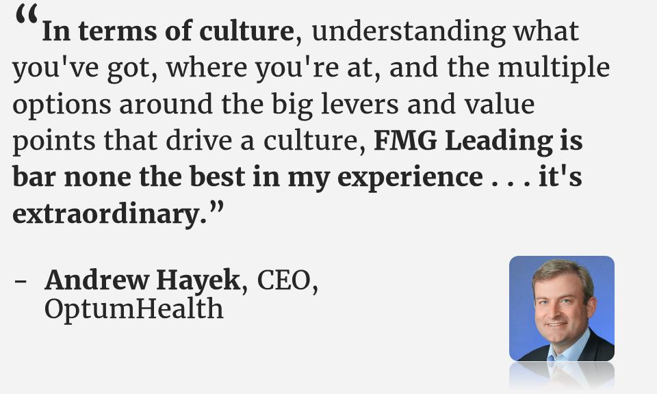 FMG Leading Andrew Hayek testimonial