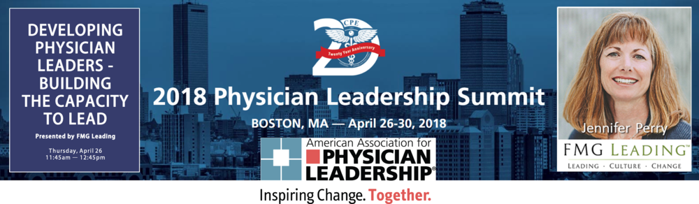 FMG Leading American Association for Physician Leader Development