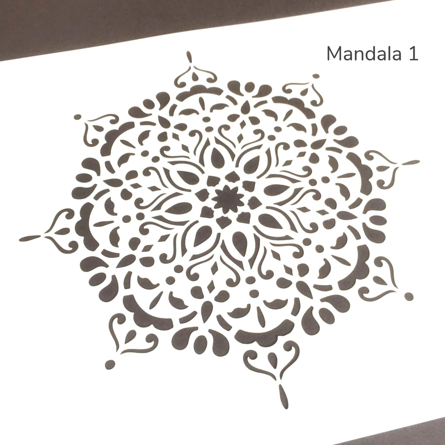 Mandala Furniture Stencil A4 Size Claire S Crafthouse
