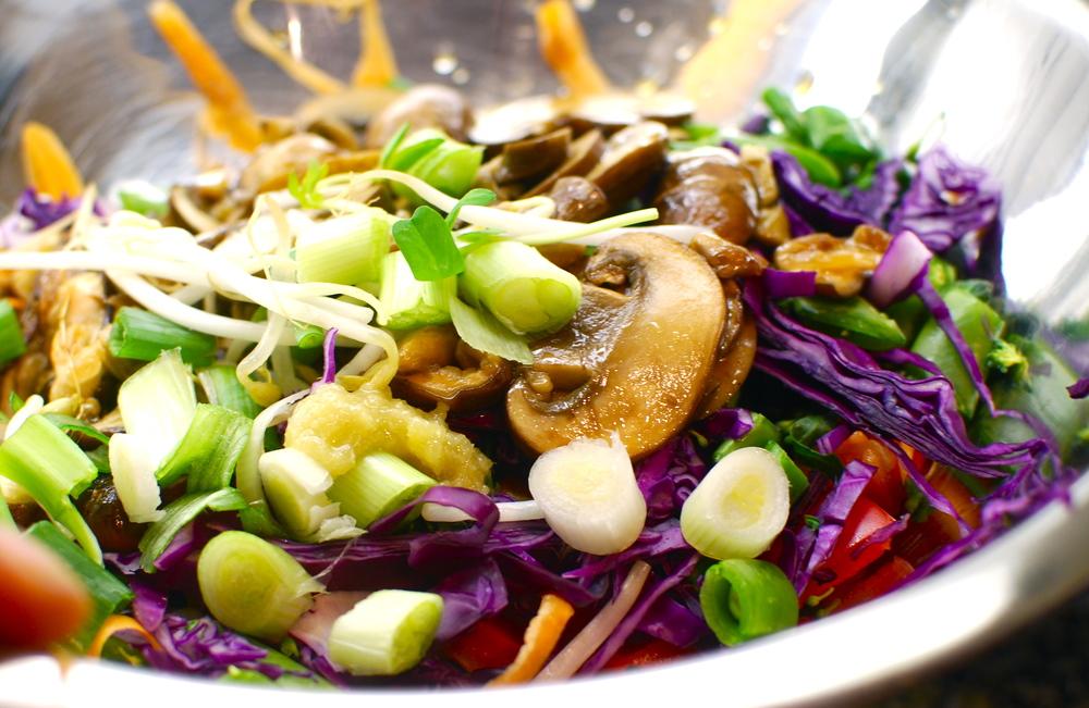 Raw Pad Thai Recipe, the love of food blog