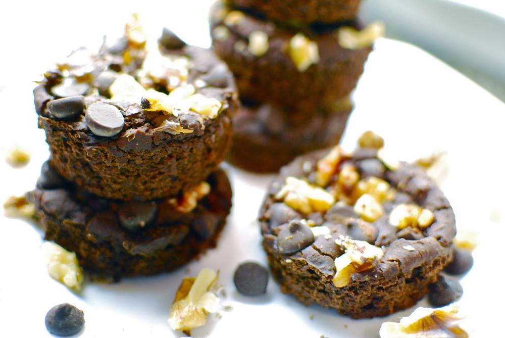 Guilt Free Vegan Gluten Free Healthy Brownies 4 Ways