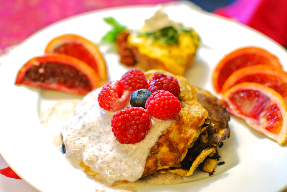 3 Ingredient Pancakes Paleo and Gluten Free