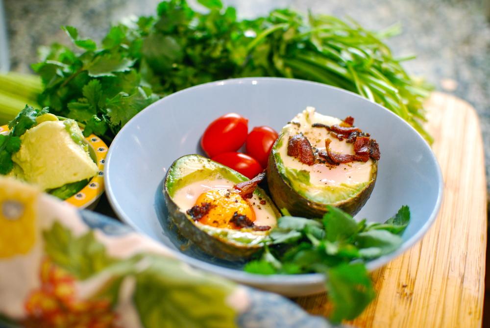 Egg Bacon and Avocado