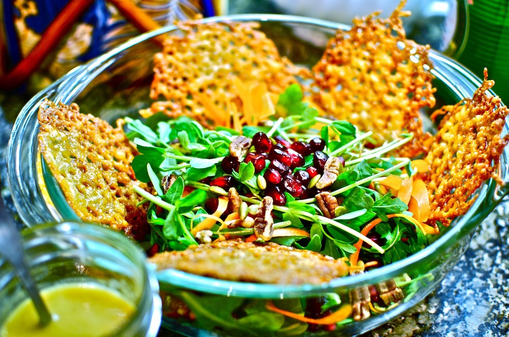 Pomegrante Salad with Parmasean Crips.jpg