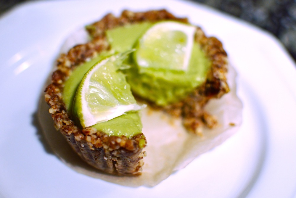 Raw Vegan Paleo Dairy Free Key Lime Pie Recipe The Love of Food Blog