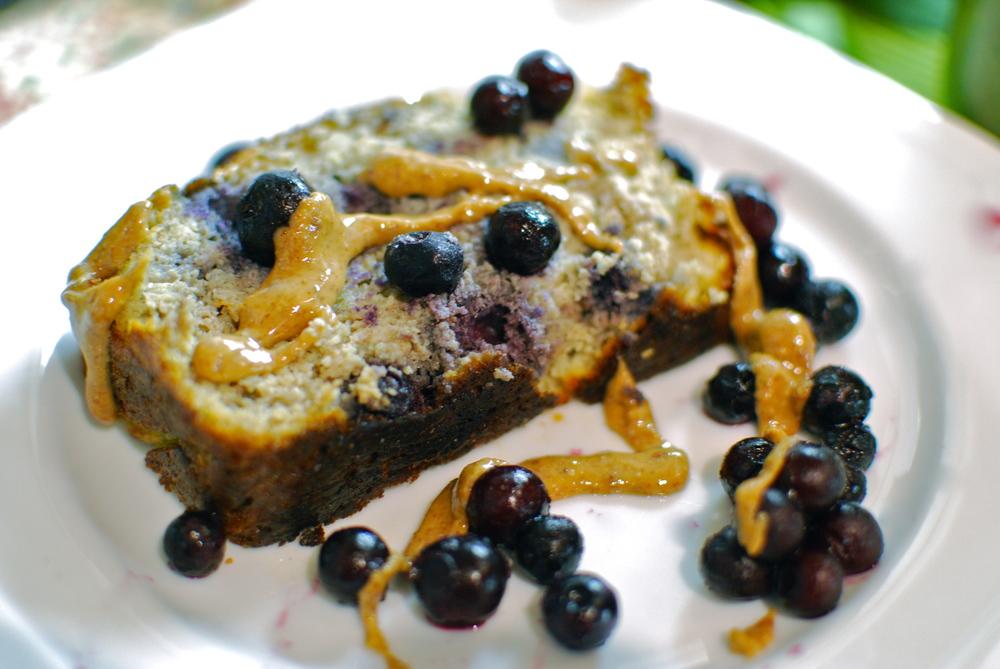 Paleo Banana Bread with Blueberries Gluten Free Banana Bread Grain Free Banana Bread Recipe