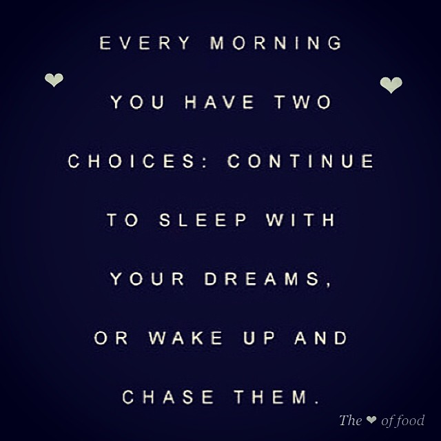 A little inspiration on this lovely Monday.. Get out there and chase them :) #quote #quoteoftheday #dreams #inspiration #dream #life #lovelife #