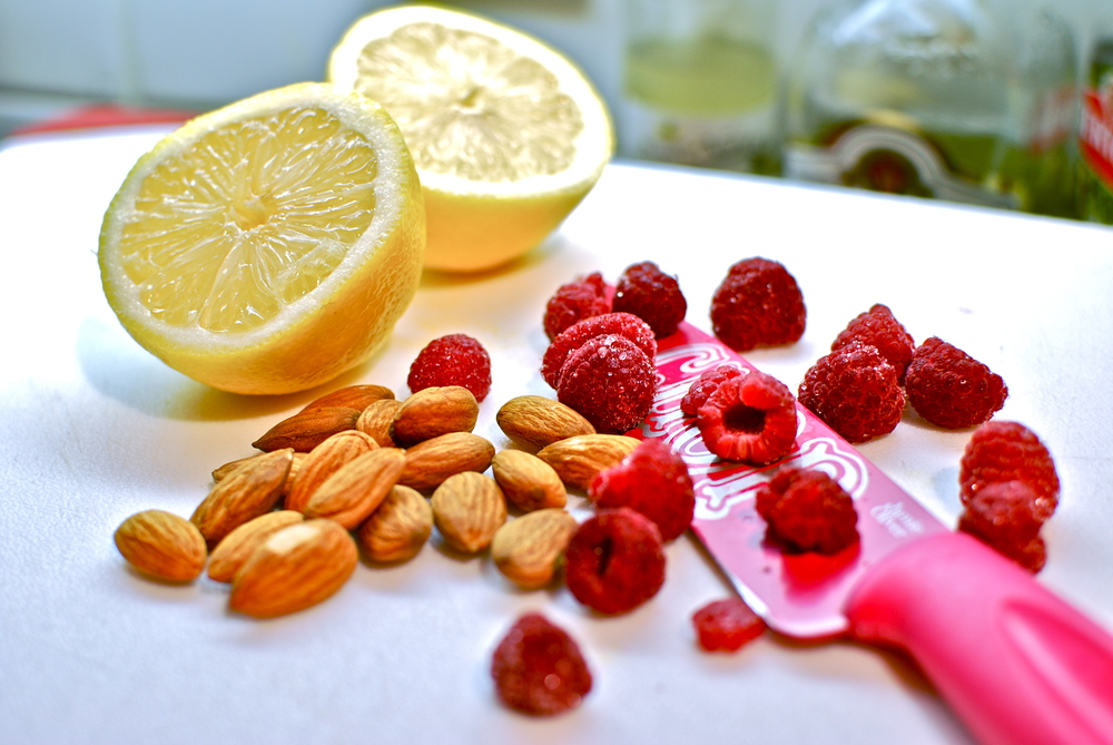 Lemon raspberry vegan energy balls recipe .JPG