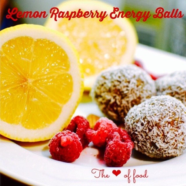 Latest blog post: lemon raspberry energy balls with protein powder for extra nutrients and sustained energy 💕 these are dairy free, gluten free and vegan as well 💖