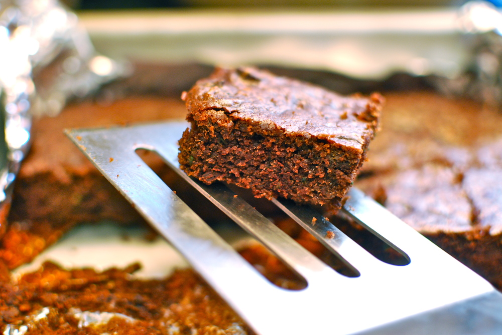 Flourless Zucchini Brownies Paleo Brownies Gluten Free Brownies Healthy Brownies The Love of Food Blog