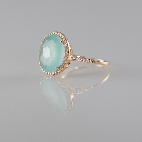 cocktail grande chalcedony in jewelry stone products silver sterling ring lotus rings