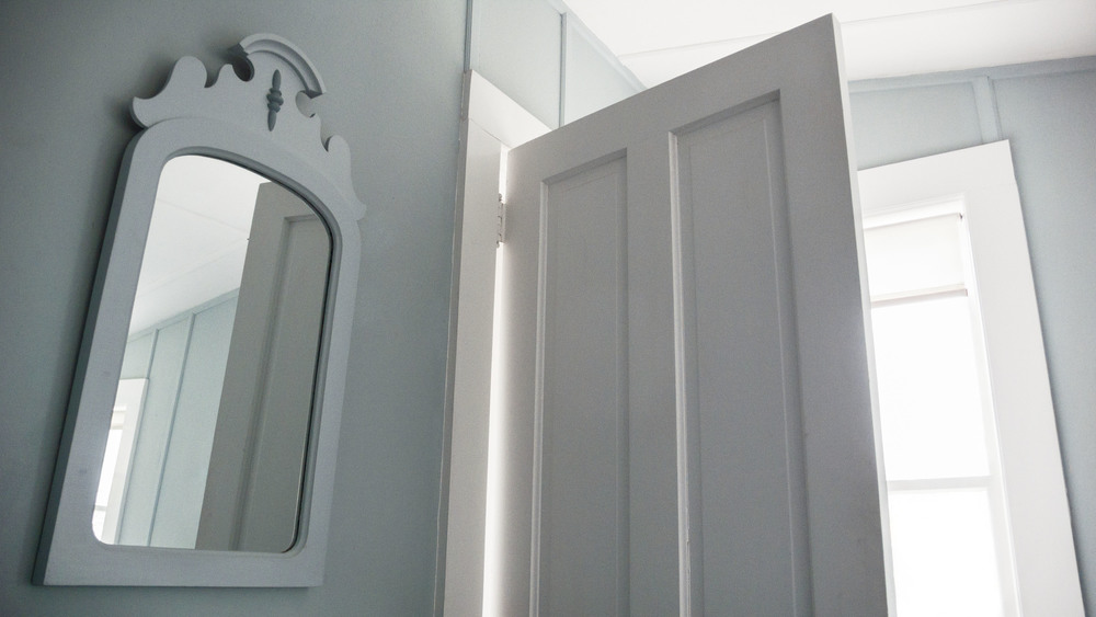 Esther Pullman, Bedroom Mirror, Annisquam, MA, 2009, 12 x 21