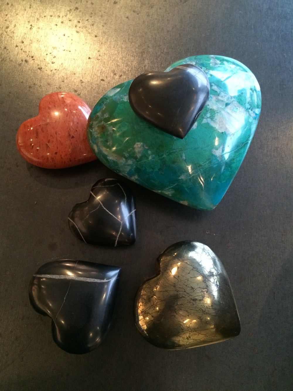 gemstone hearts gladstone jewelry