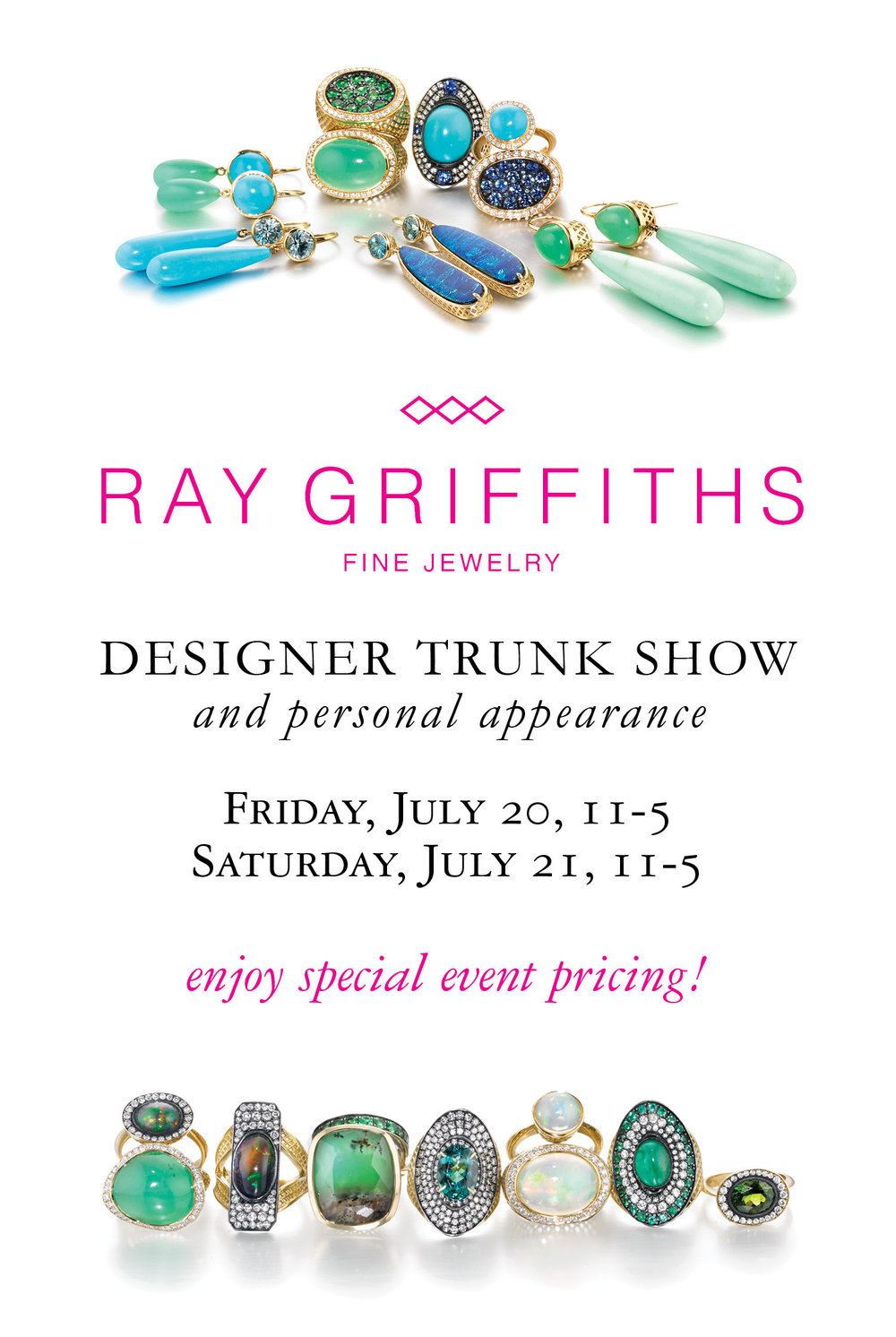 Ray Griffiths Trunk Show Summer 2018.jpg