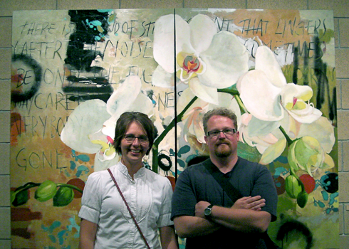 Todd and Jen at A Gallery