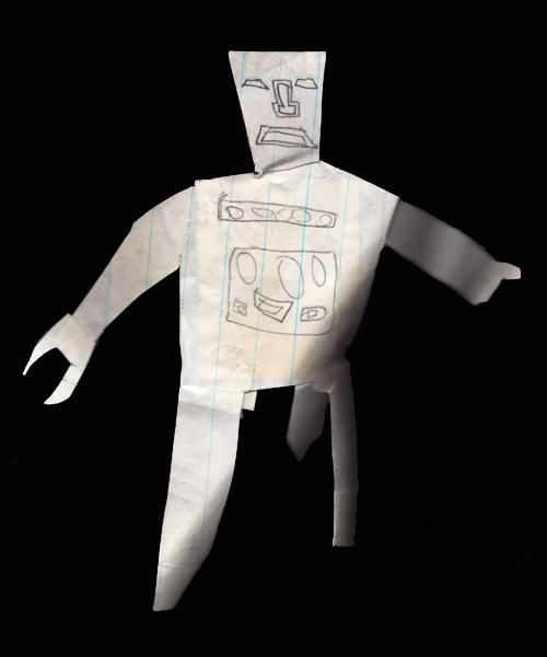 Cutout Robot