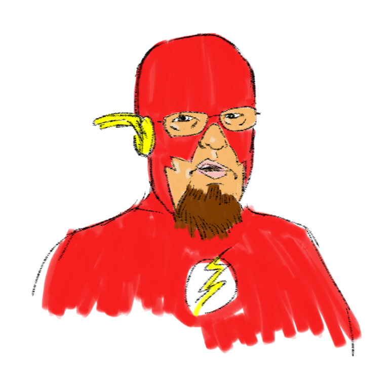 Charles Cuthbertson as The Flash