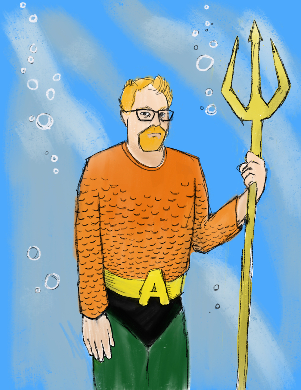 Todd Petersen as Aquaman