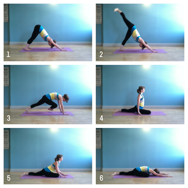 pigeon pose breakdown : wholehearter
