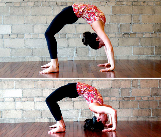 5 steps toward full wheel pose : wholehearter