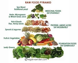 raw food break-down : wholehearter