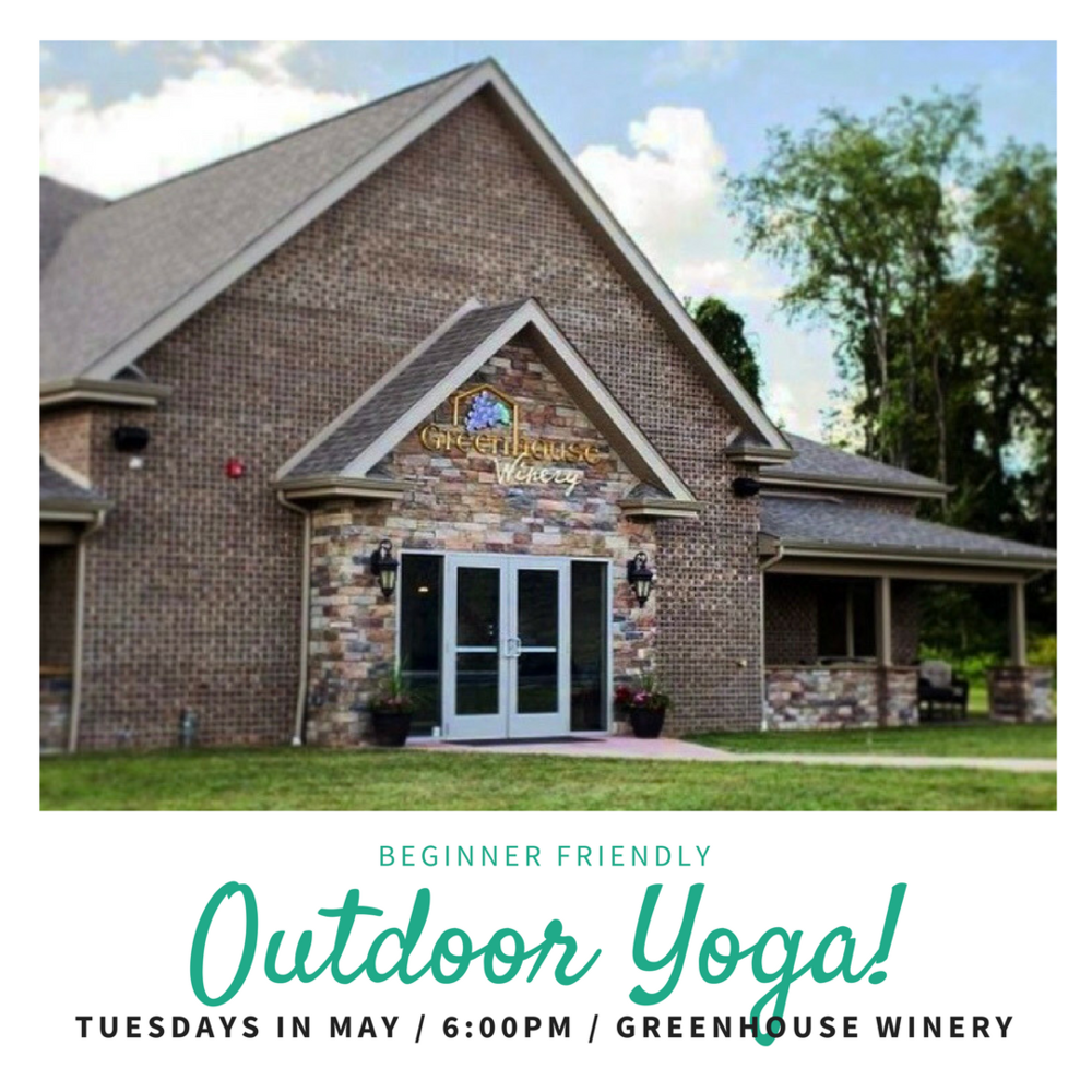 Outdoor Yoga at Greenhouse Windery in May
