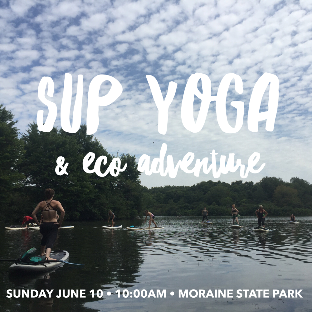 SUP Yoga & Eco Adventure at Moraine State Park