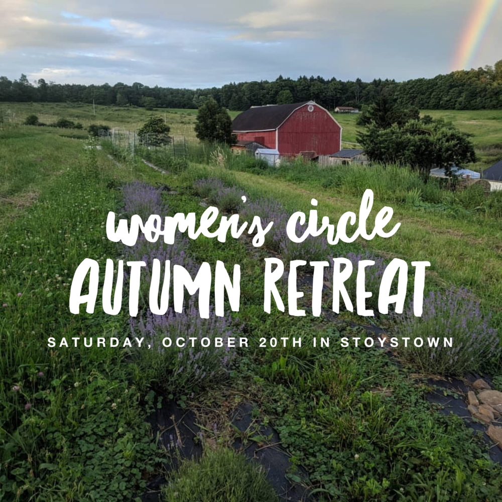Women's Circle Autumn Retreat in Stoystown