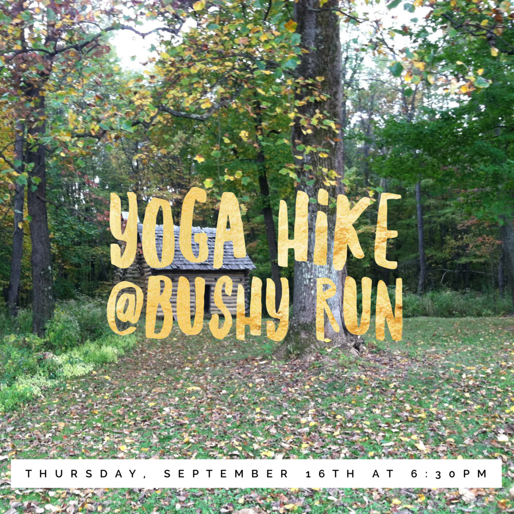 Yoga Hike at Bushy Run