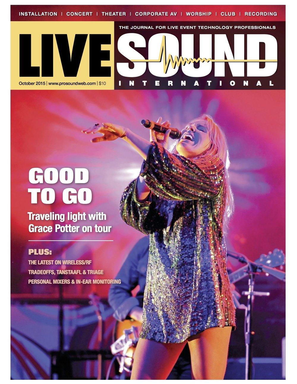 Lou Mannarino Live Sound Profile