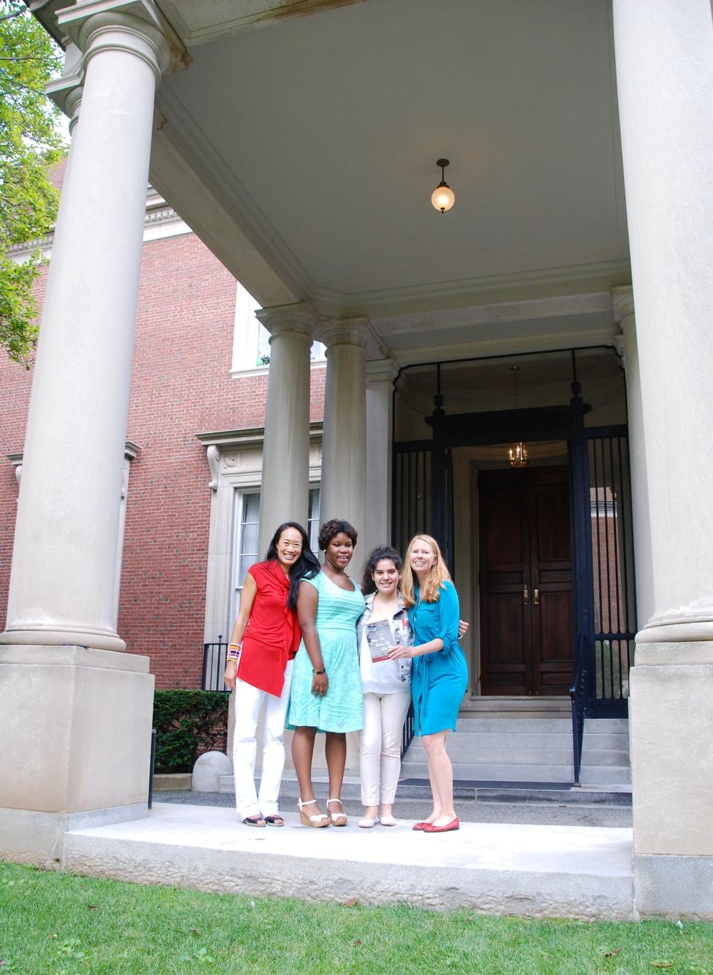 Team Shout Mouse International! Lana, Darne'sha, Litzi, and Kathy.