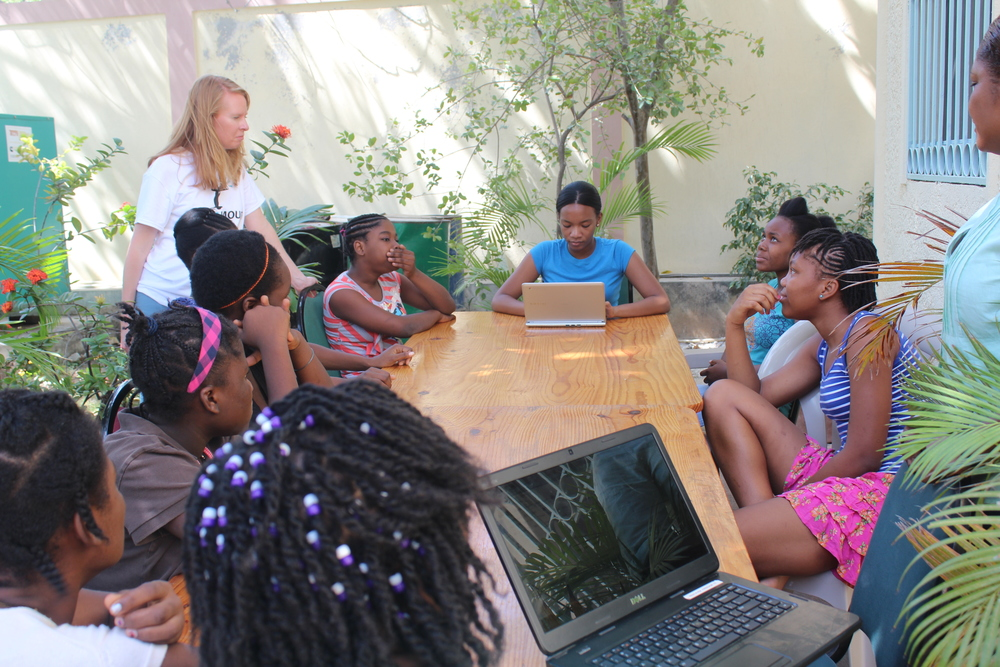 NPR covers our book project with the young women of Restavek Freedom Foundation in Haiti