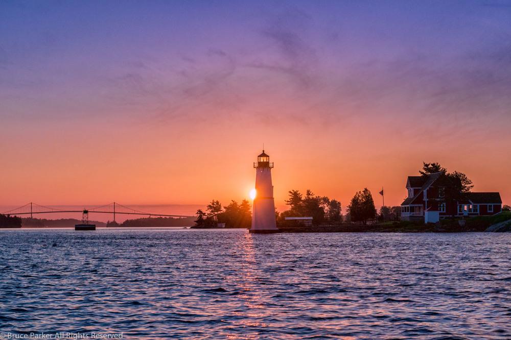 Rock Island Dawn