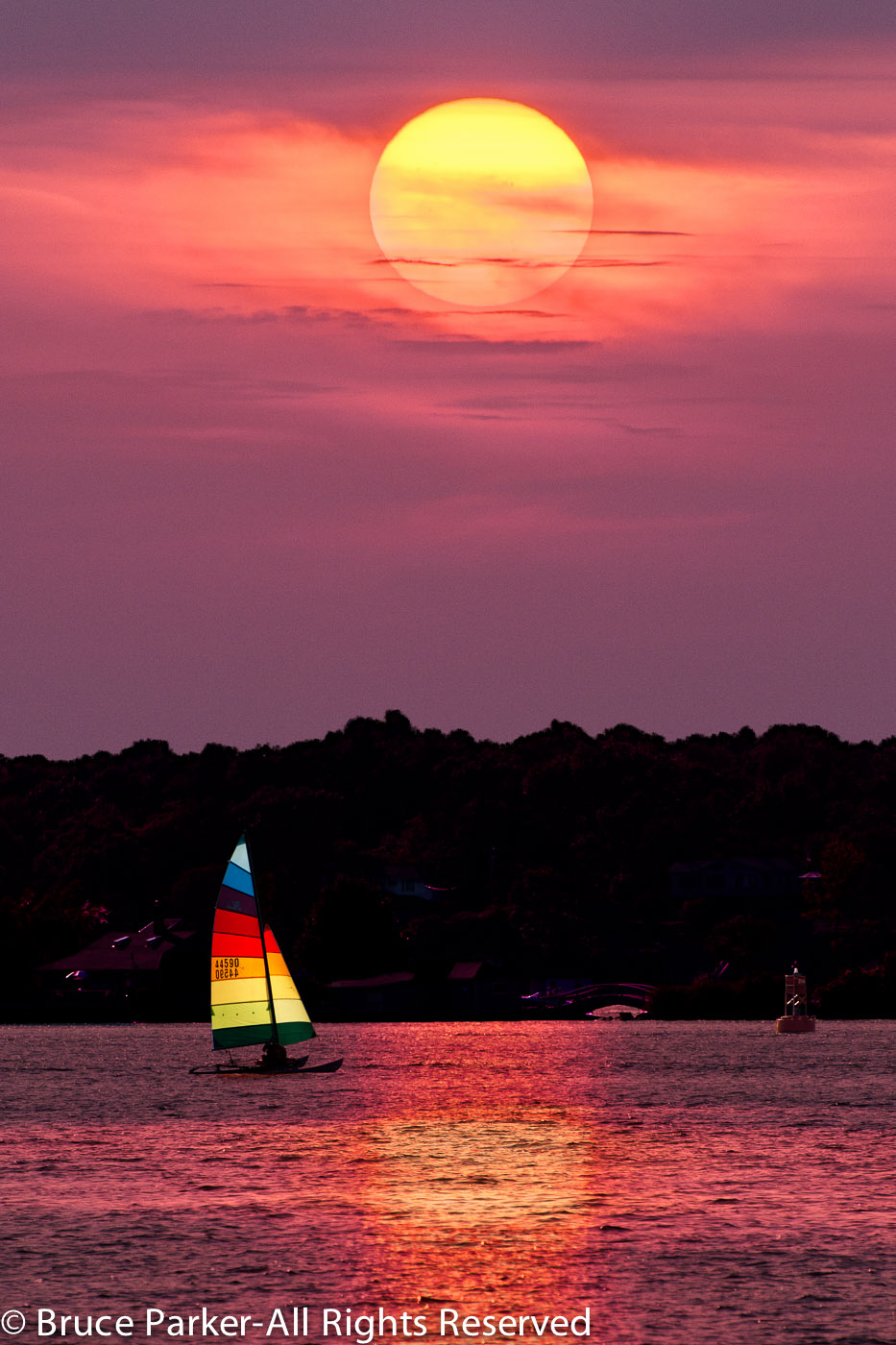 Rock Island Life-Hobie Sunset