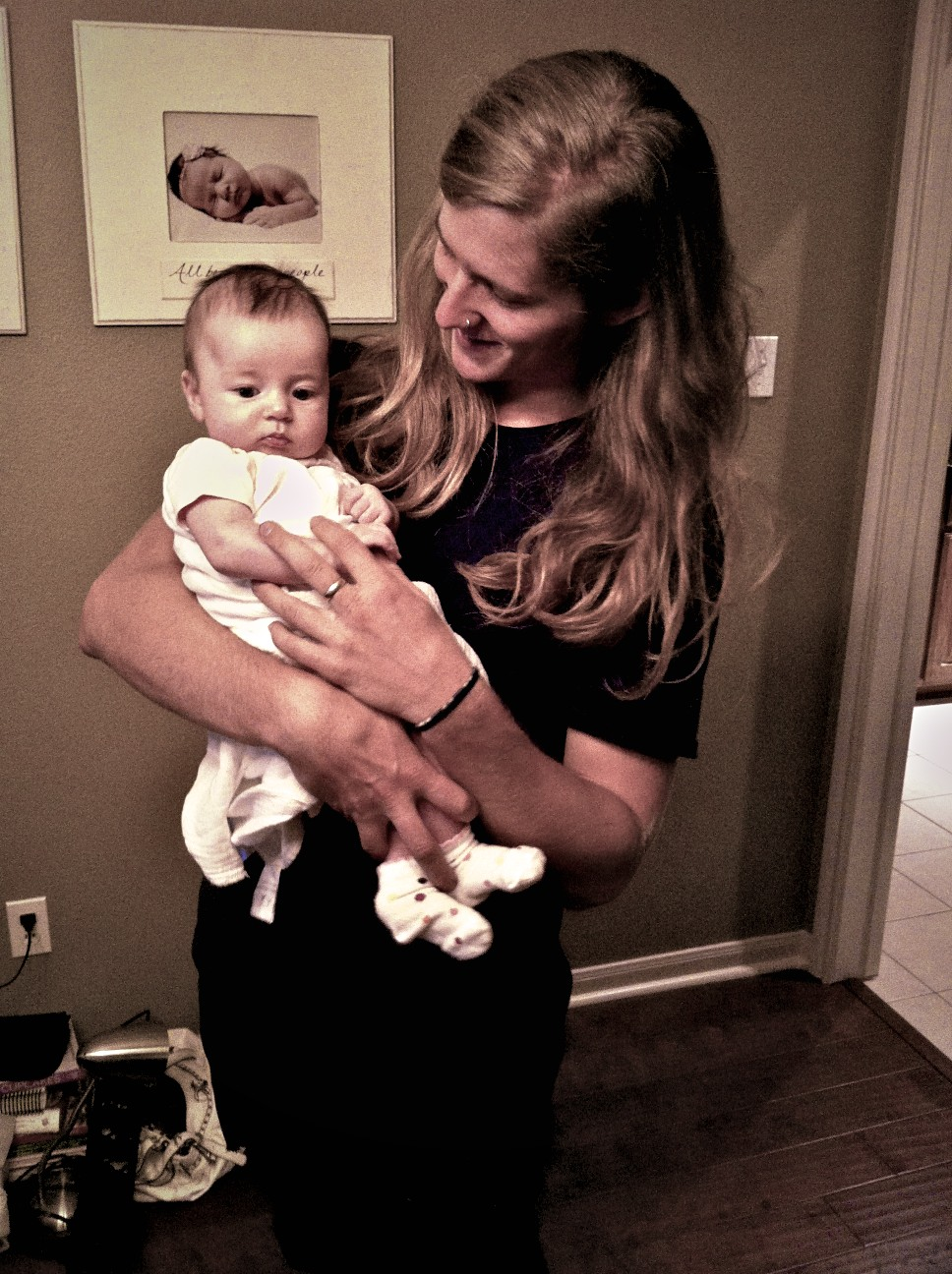 I was so excited to finally meet baby Audrey. I. Love. The Setterbos.