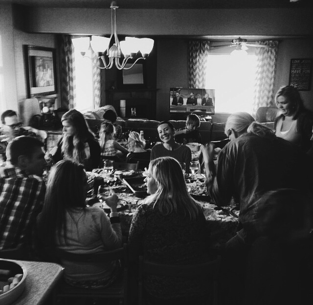 Thanksgiving Feast with the Josts and friends.