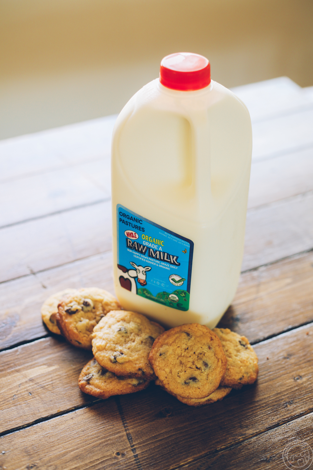 And of course, you can't have cookies without some delicious, nutritious milk.