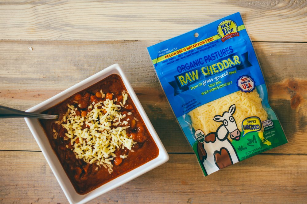 Raw Shredded Cheese- ORGANIC PASTURES
