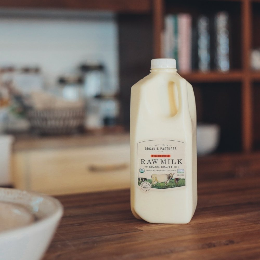 RAW WHOLE MILK