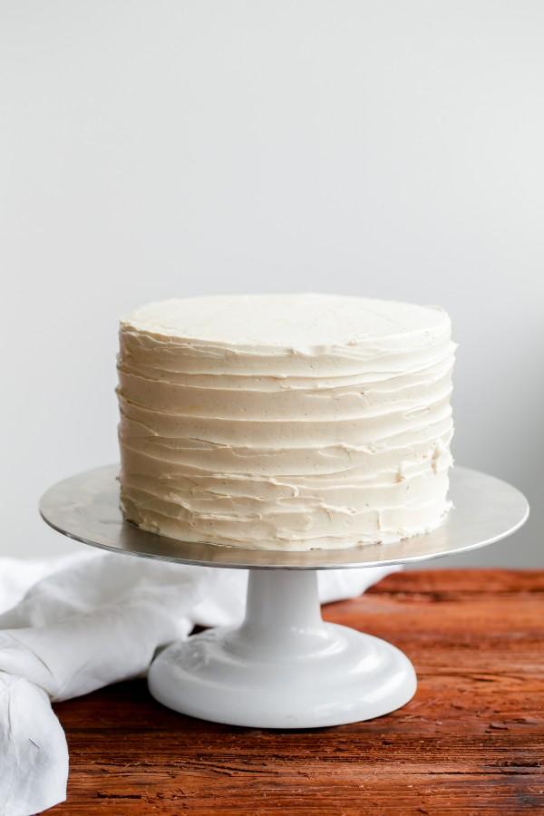 Raw Buttercream Cake
