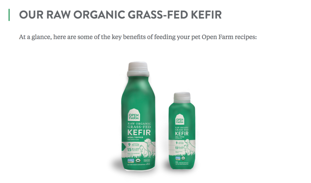 Open Farm- Raw Kefir