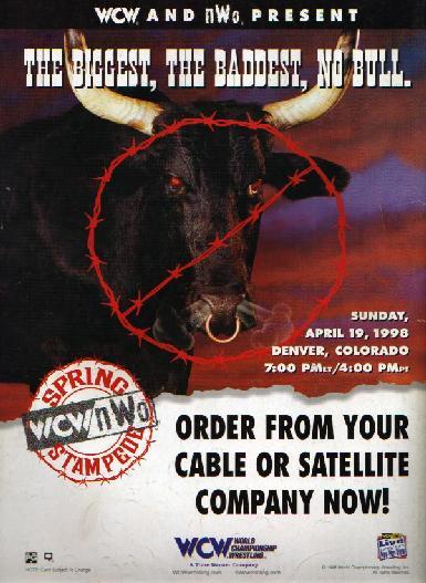 Image result for wcw spring stampede 1998